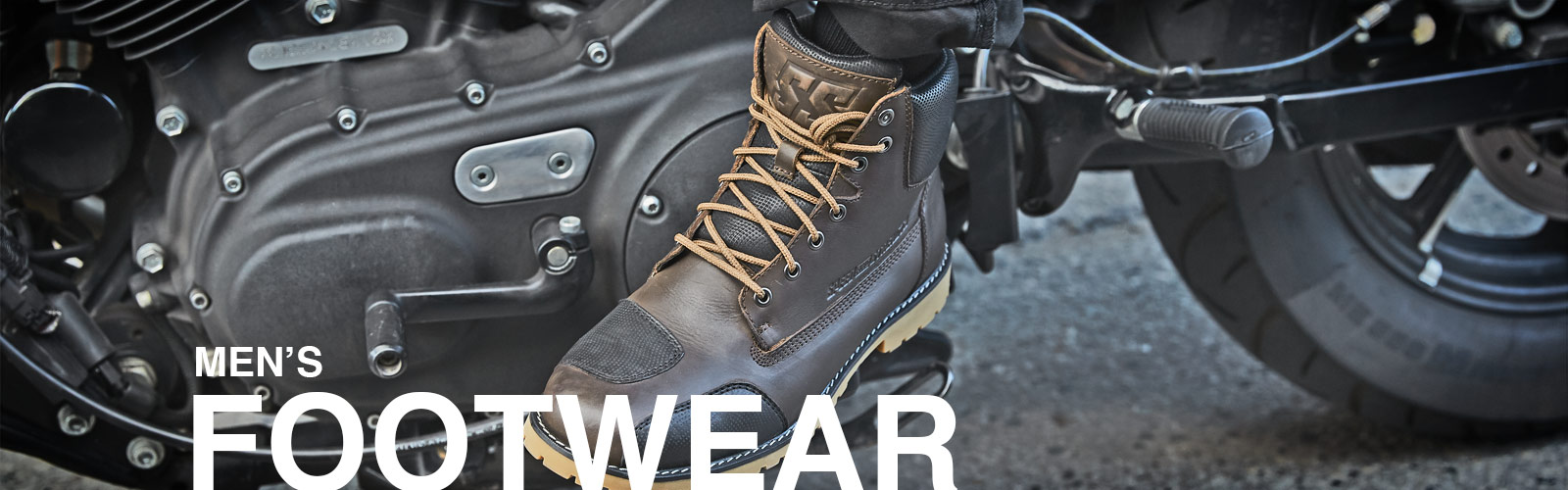 Speed and Strength Men's Motorcycle Footwear