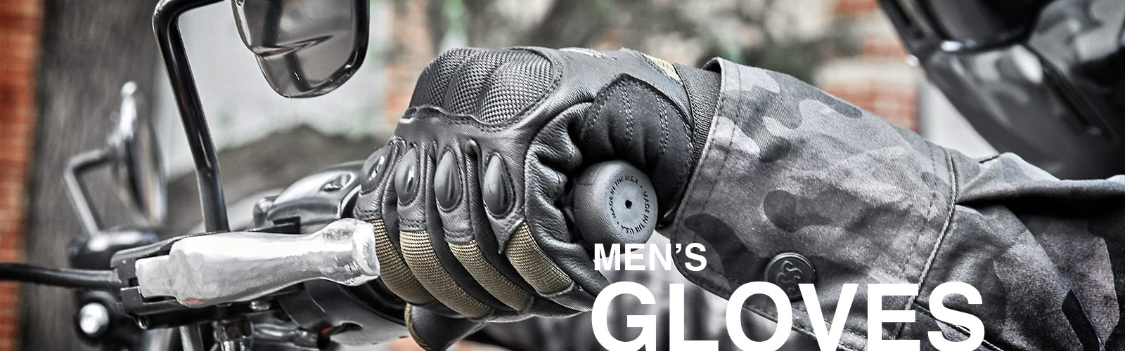 Speed and Strength Men's Motorcycle Gloves