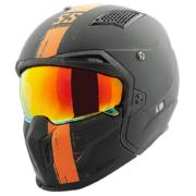 Matte Black / Orange