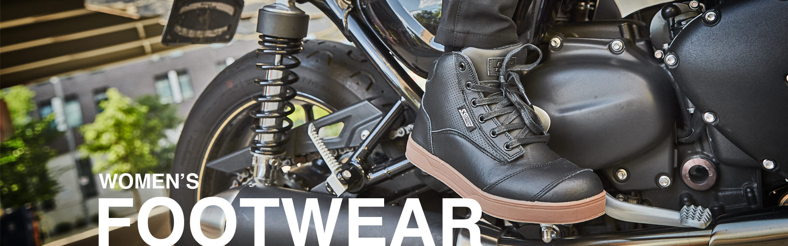 Speed and Strength Women's Motorcycle Footwear Collection
